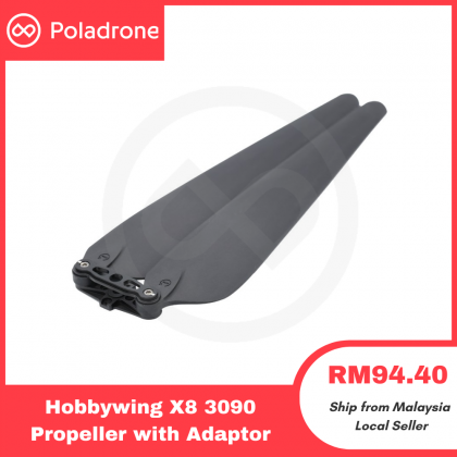 Hobbywing X8 3090 Propeller with OR without Adaptor (CW/CCW)