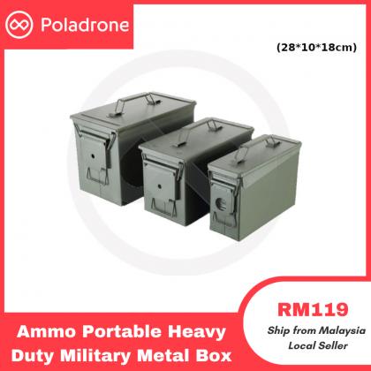 Ammo Portable Heavy Duty Military Metal Box