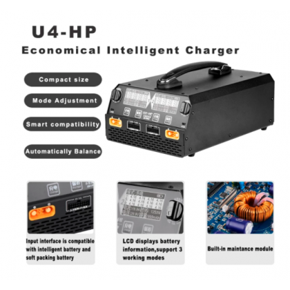 EV Peak U4-HP Battery Charger